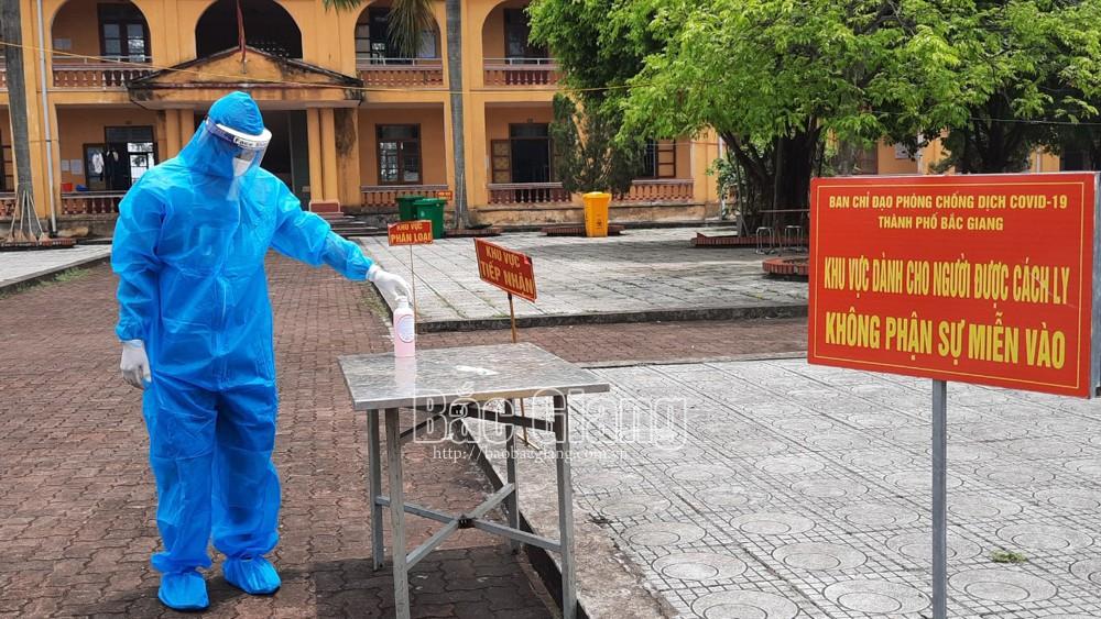 Bắc Giang, quản lý cách ly tập trung, lây nhiễm chéo, kiểm tra, giám sát