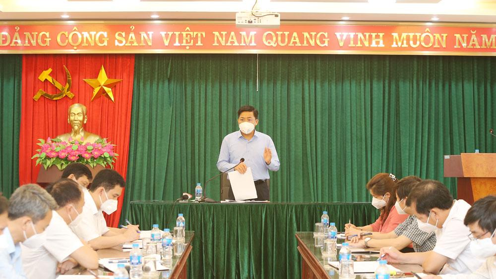 Bắc Giang, Bí thư Dương Văn Thái, kiểm tra Hiệp Hòa, dịch Covid-19