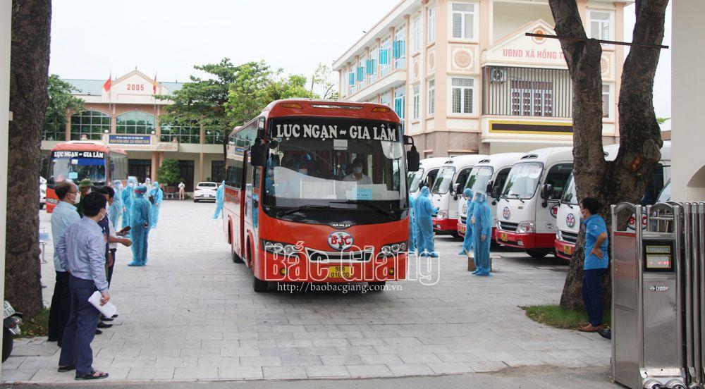 Bắc Giang, phòng dịch, Covid-19, công nhân, tỉnh Lạng Sơn