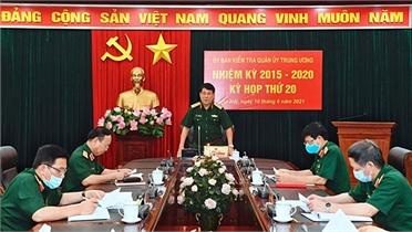 Kỳ họp thứ 20 của Ủy ban Kiểm tra Quân ủy Trung ương