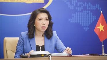 Việt Nam kiên quyết phản đối mọi hành động xâm phạm chủ quyền đối với quần đảo Trường Sa