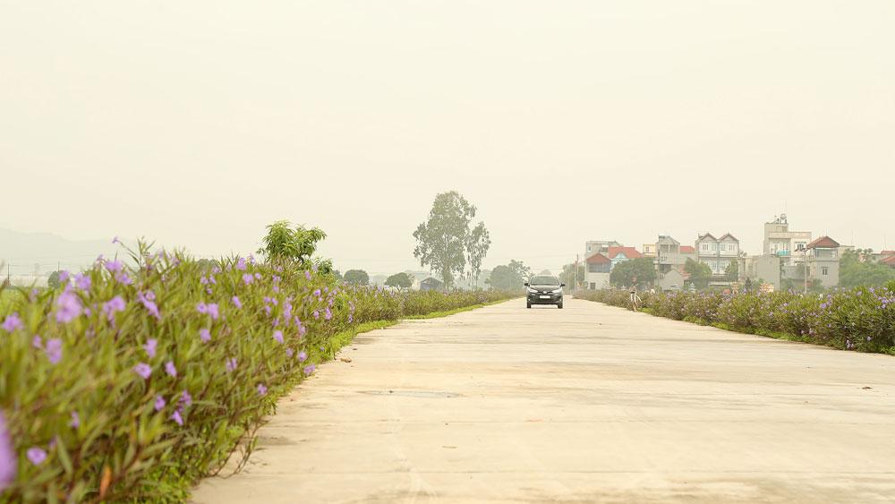 Nông thôn mới, thôn kiểu mẫu, Yên Dũng, Bắc Giang, cơ chế, chính sách
