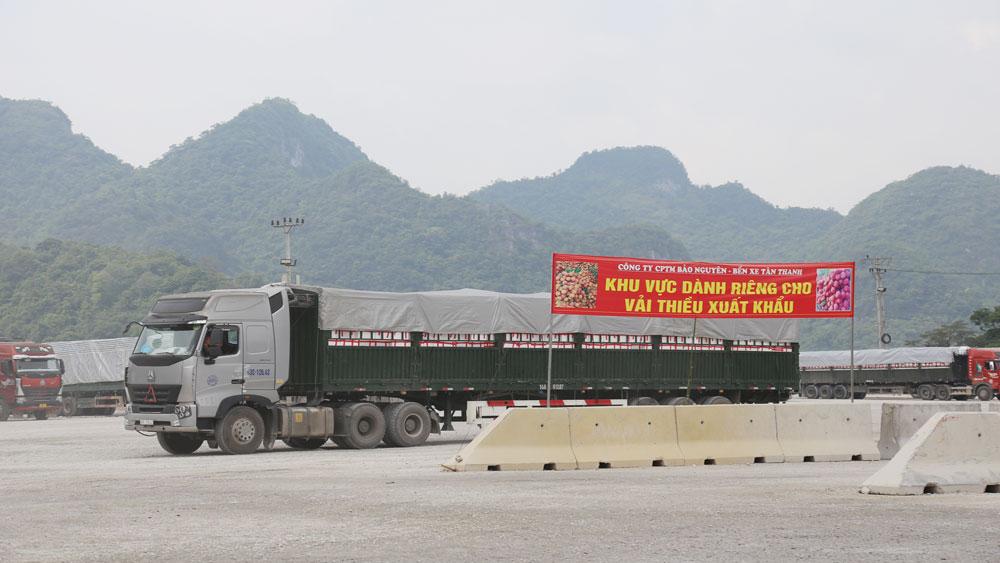 Vải thiều, Bắc Giang, cửa khẩu, xuất khẩu, Lạng Sơn, Trung Quốc