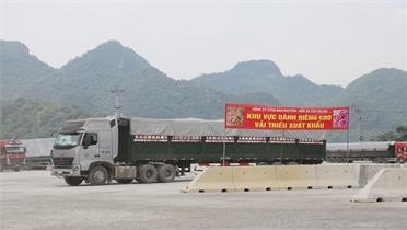 Lạng Sơn hỗ trợ tối đa để vải thiều Bắc Giang thông quan thuận lợi