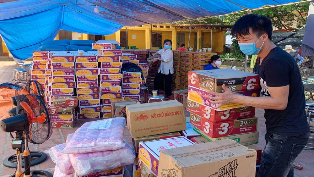 Chiến dịch tiếp tế cho 67.000 công nhân ở tâm dịch, Siêu thị 0 đồng, công nhân, khu công nghiệp, nhà trọ