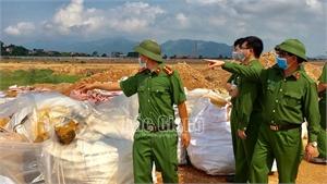 Bắc Giang: Khai quật hơn 250 tấn chất thải Công ty Khải Hồng chôn trái phép