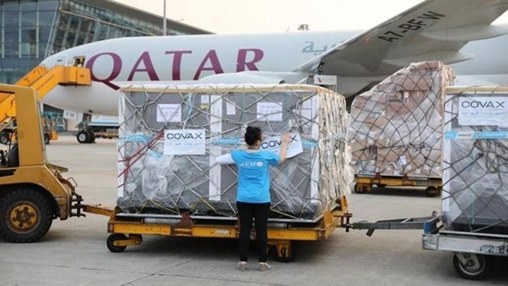 More vaccines, Covax Facility, arrive in Vietnam, UNICEF, Covid-19 pandemic, fourth coronavirus wave, AstraZeneca vaccines