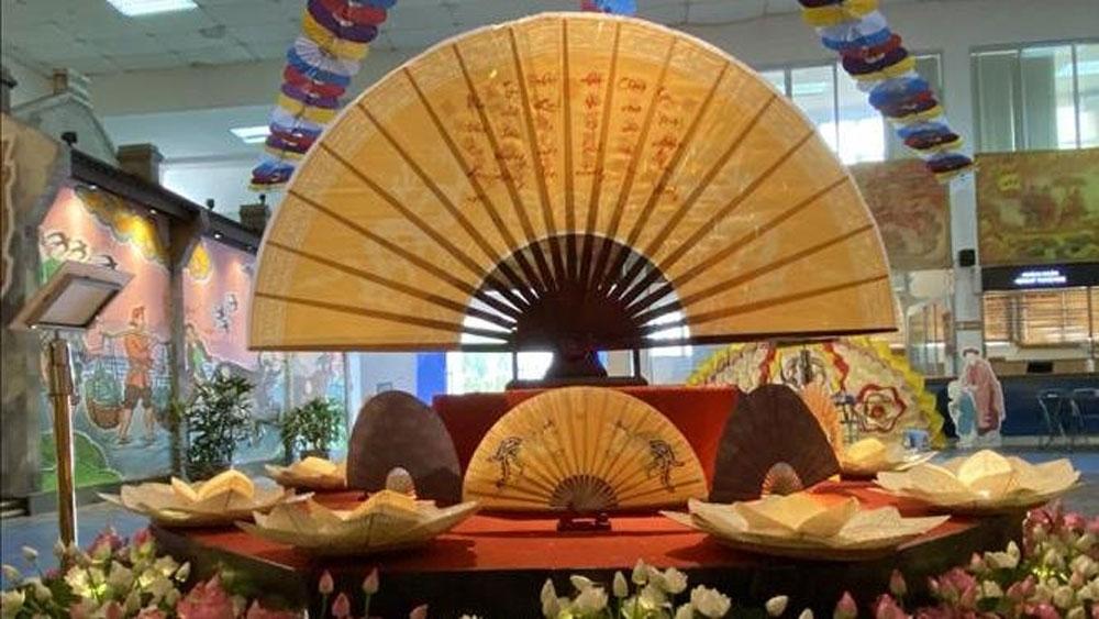 Exhibition introduces traditional celebration of Doan Ngo Festival