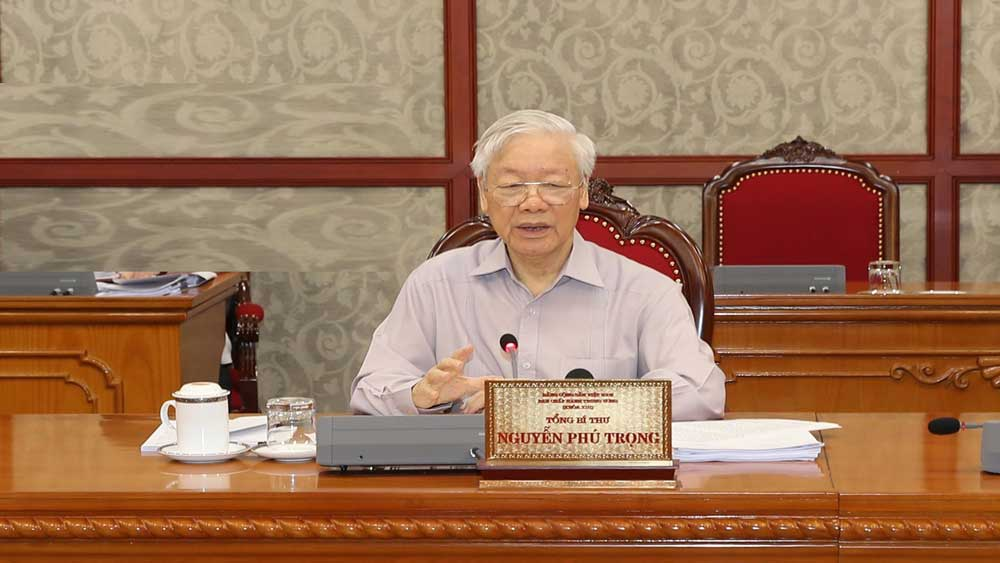 Tổng Bí thư Nguyễn Phú Trọng, Toàn hệ thống chính trị, tập trung cao nhất, công tác phòng, chống dịch Covid-19