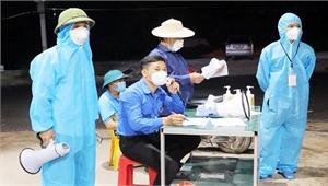 Bí thư Đoàn xã Quang Châu (Việt Yên) Nguyễn Văn Công: Xông xáo giữa tâm dịch