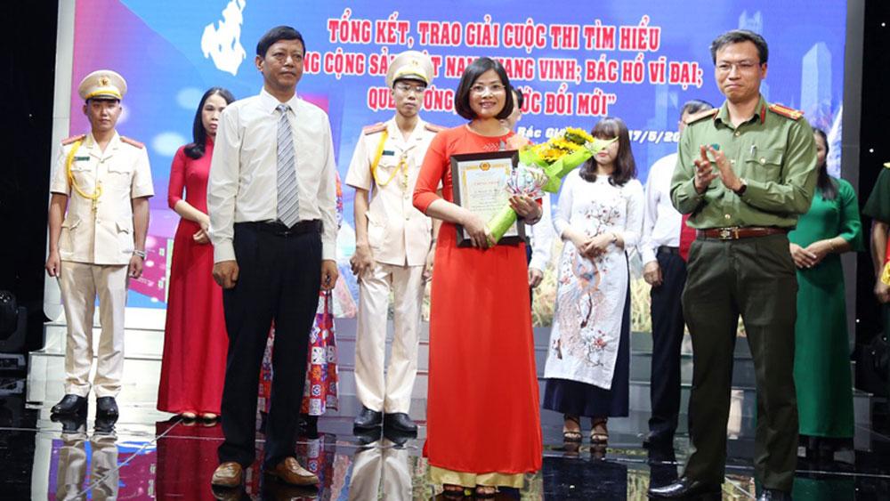 Bắc Giang, đổi mới, sáng tạo, học tập, làm theo tư tưởng, đạo đức, phong cách, Hồ Chí Minh