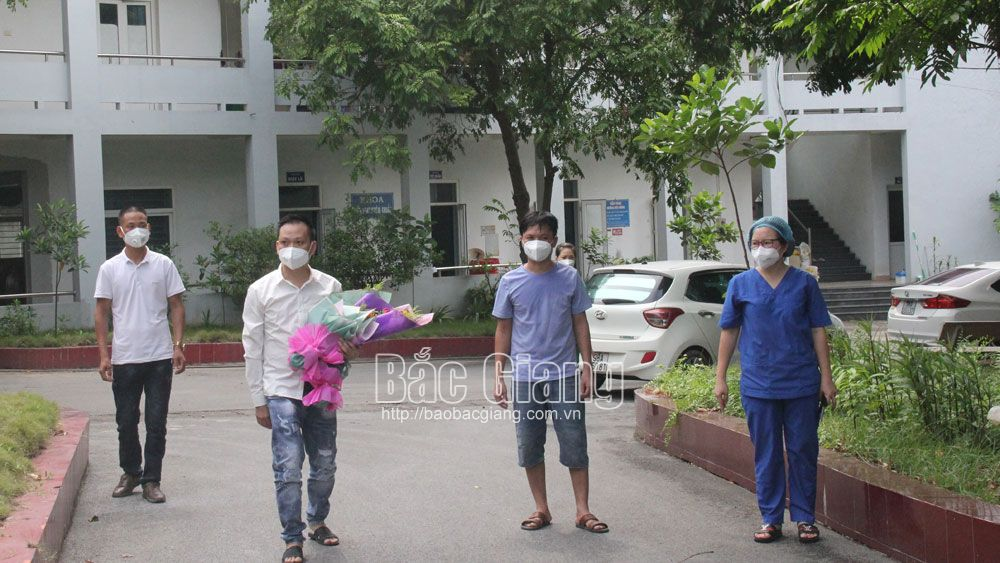 Bac Giang province, 71 Covid-19 patients, given the all-clear, Covid-19 pandemic, Department of Health, Covid-19 treatment hospital