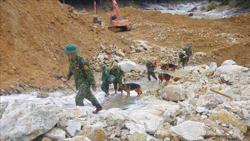 Ngày 23/6 sẽ nối lại tìm kiếm nạn nhân mất tích tại Thủy điện Rào Trăng 3