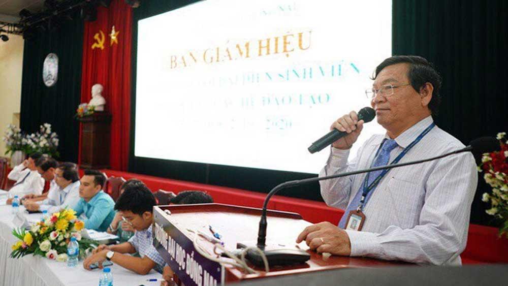 Cách chức Hiệu trưởng Đại học Đồng Nai đối với ông Trần Minh Hùng