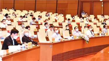 Tổng Bí thư Nguyễn Phú Trọng dự hội nghị toàn quốc sơ kết 5 năm thực hiện Chỉ thị 05 của Bộ Chính trị