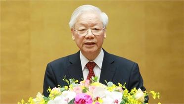 Toàn văn phát biểu của Tổng Bí thư Nguyễn Phú Trọng tại hội nghị toàn quốc sơ kết 5 năm thực hiện Chỉ thị số 05