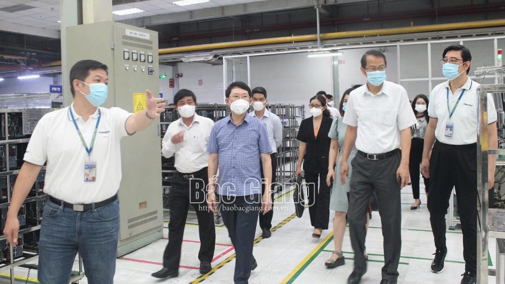 Công ty TNHH Fuhong , sản xuất gắn với phòng, chống dịch, an toàn