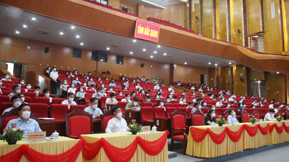 Bắc Giang; Ban tuyên giáo trung ương; trực tuyến; Chỉ thị số 05