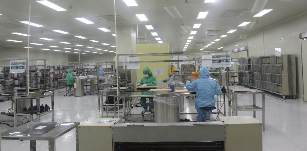 Business, resume normal pace, Bac Giang province, Covid-19 pandemic, community transmission, industrial park