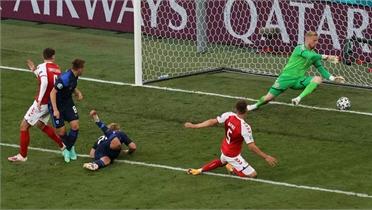 Đan Mạch thua sốc khi vắng Eriksen