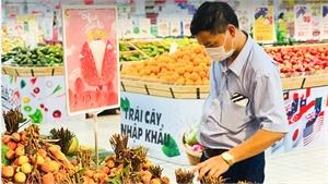 """Vải thiều Bắc Giang được quảng bá tại """"Lễ hội trái cây"""" của GO! và BigC"""