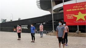 Bắc Giang: Thêm 46 bệnh nhân nhiễm Covid-19 khỏi bệnh được ra viện