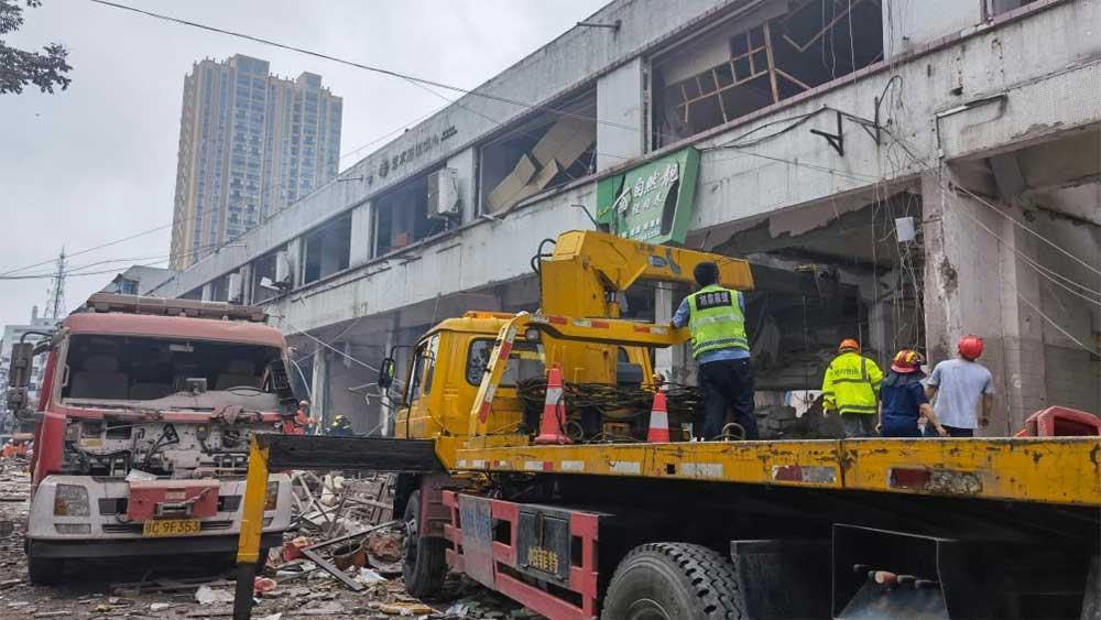 Trung Quốc, Nổ khí ga, 11 người thiệt mạng,