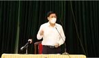Bí thư Tỉnh ủy Dương Văn Thái: Huyện Việt Yên phải thể hiện rõ quyết tâm, quyết liệt trong dập dịch