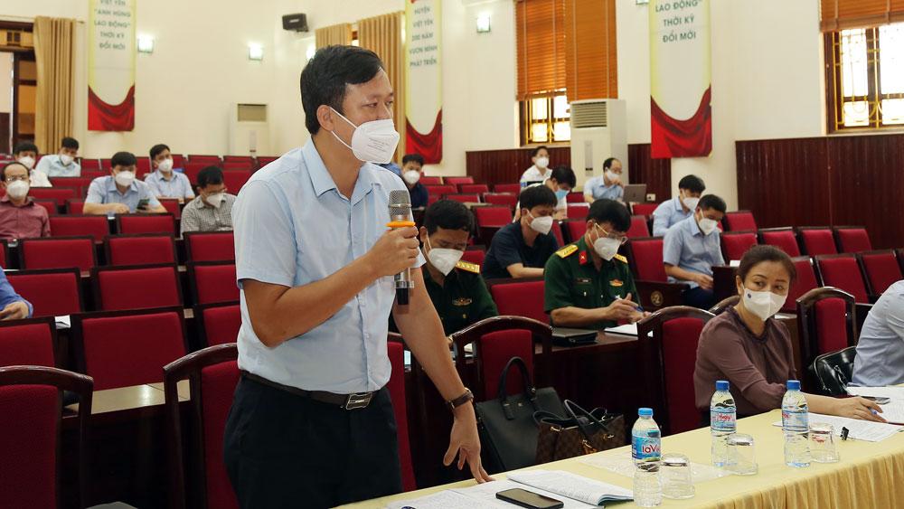 Bắc Giang, Bí thư Dương Văn Thái, kiểm tra Việt Yên, dịch Covid-19
