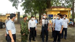 Thứ trưởng Bộ Y tế Nguyễn Trường Sơn: Bắc Giang đã và đang thực hiện đúng chiến lược dập dịch hiệu quả