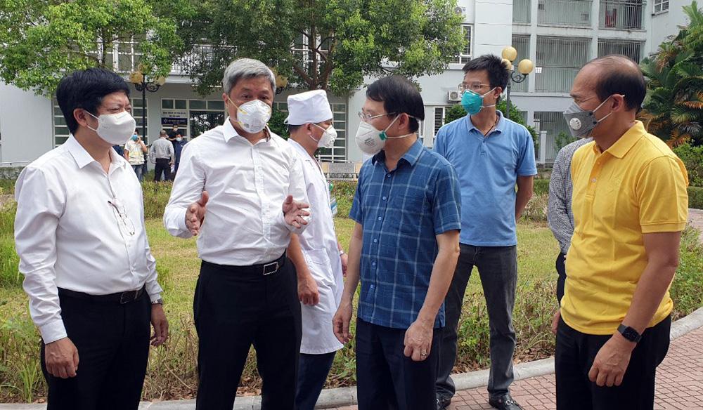 Thứ trưởng Bộ Y tế Nguyễn Trường Sơn, Từ thực tế Bắc Giang, Bộ Y tế, dịch Covid-19