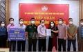 Bắc Giang: Tiếp nhận kinh phí, vật tư y tế, nhu yếu phẩm ủng hộ phòng, chống dịch