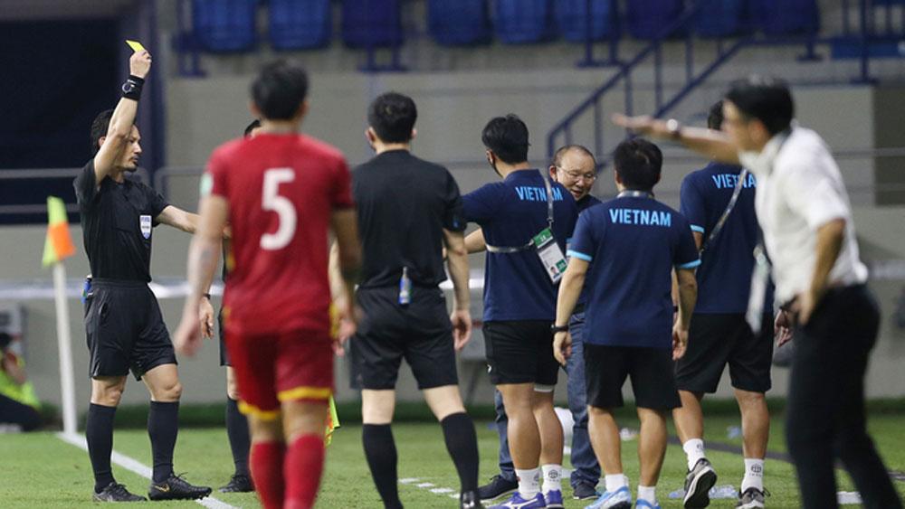 HLV Park , bị cấm tiếp xúc, đội tuyển, trận UAE