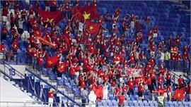Liên đoàn Bóng đá UAE đã bán vé cho cổ động viên Việt Nam