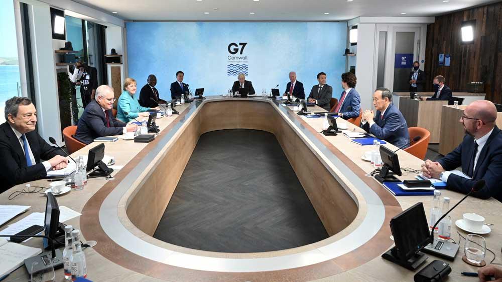 Hội nghị thượng đỉnh G7, Các nhà lãnh đạo, cam kết, viện trợ, 1 tỷ liều vaccine