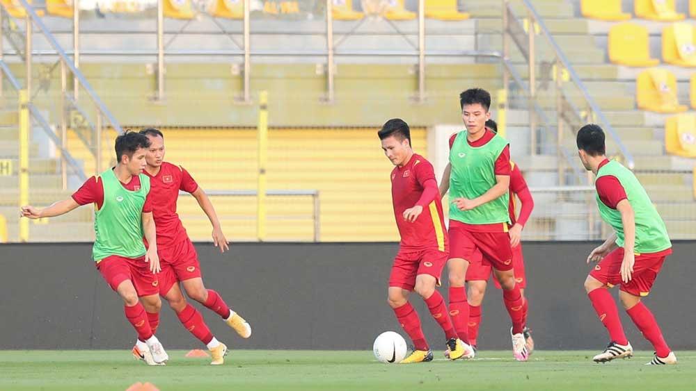 HLV Park Hang-seo tính gì trước UAE?