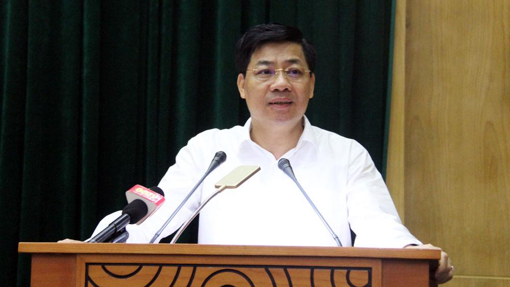"""Phát biểu khai mạc của Bí thư Tỉnh ủy Dương Văn Thái tại hội nghị chuyên đề về thực hiện """"mục tiêu kép"""""""