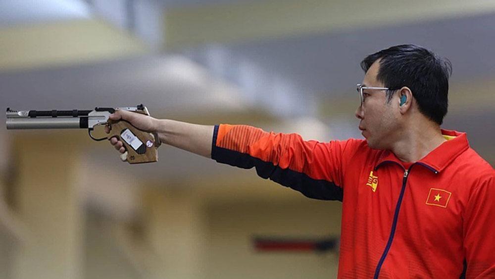 Veteran shooter champ grabs Olympic invitation slot