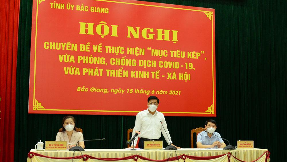 Bắc Giang: Tổng lực dập dịch, khôi phục, phát triển kinh tế - xã hội