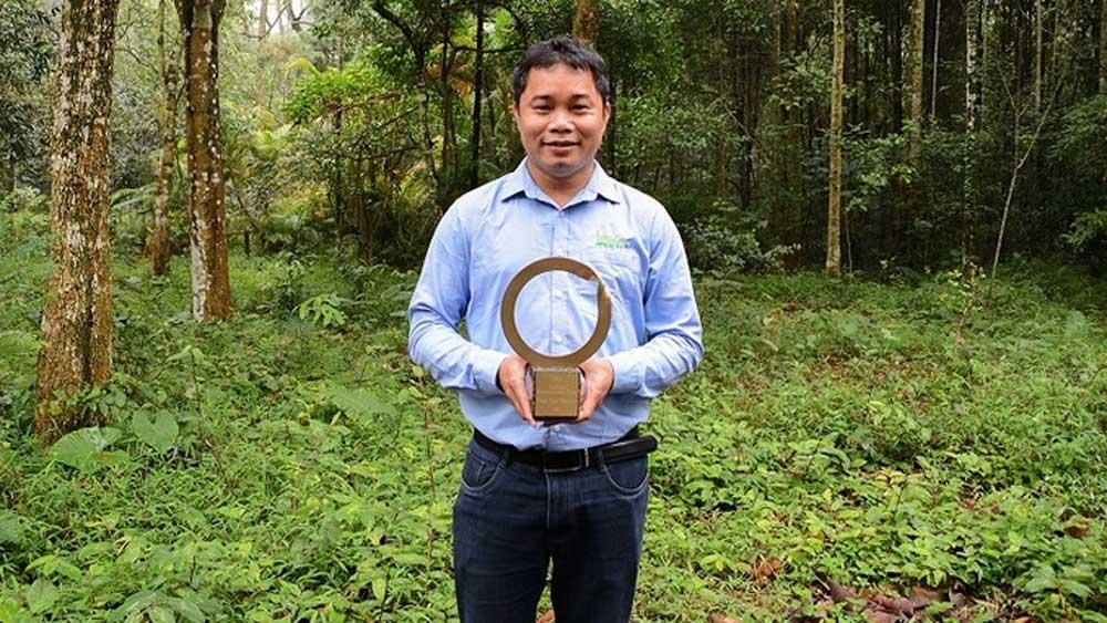 Người Việt được vinh danh giải 'Nobel xanh'