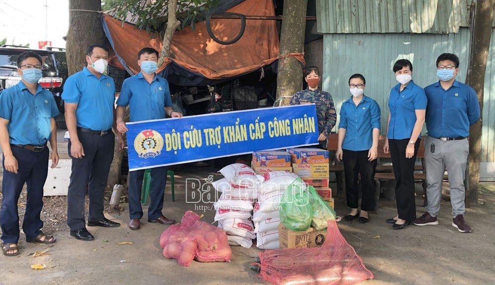 Bắc Giang, chống dịch covid, làm sạch xóm trọ, vùng phong tỏa, vùng cách ly, Việt Yên, Vân Trung