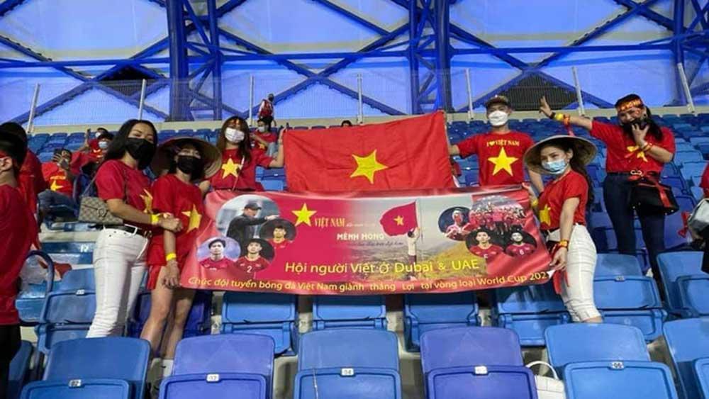 CĐV Việt Nam mua vé khán đài UAE để tiếp lửa cho đội tuyển