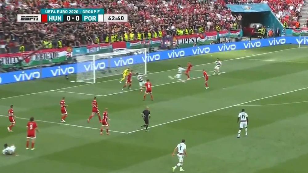 """EURO 2020: Ronaldo bị chê vì """"hỏng ăn"""" trong khu 5m50"""