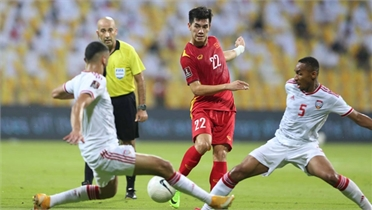 Clip: UAE 3-2 Việt Nam