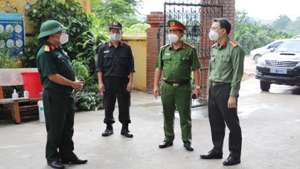 Công an Bắc Giang, tuyến đầu chống dịch, Tâm dịch Bắc Giang
