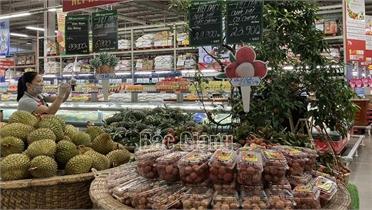 """Vải thiều Bắc Giang tiêu thụ thuận lợi tại """"Hội chợ trái cây nhiệt đới"""""""