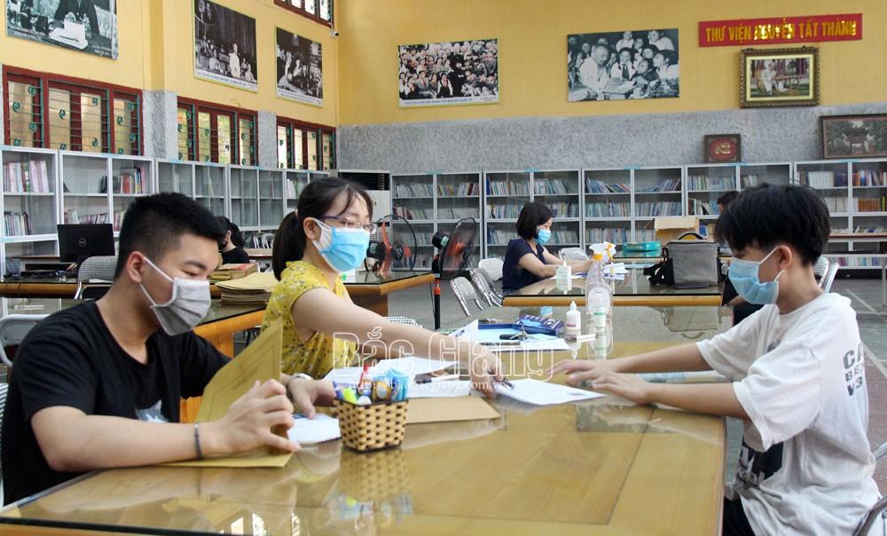 Bắc Giang:  Giảm thời gian thi môn Toán, Ngữ văn  vào lớp 10 THPT