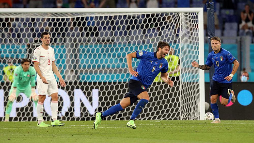 Euro 2020: Italy vào vòng 1/8 sớm một lượt trận
