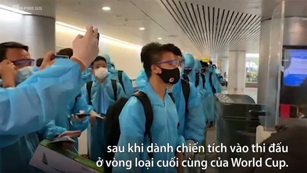 Đội tuyển Việt Nam đã về TP HCM