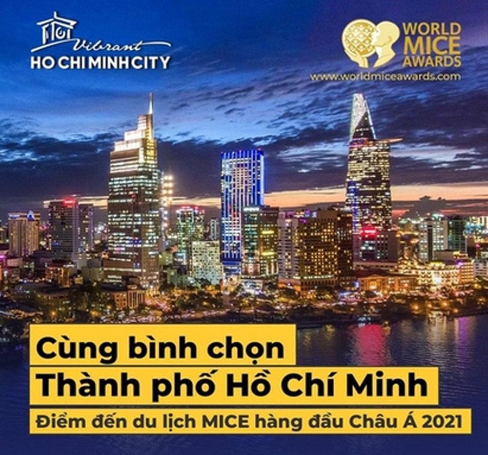 Ho Chi Minh City, Asia, Best MICE Destination, World Travel Awards, global scale, Vietnamese tourism